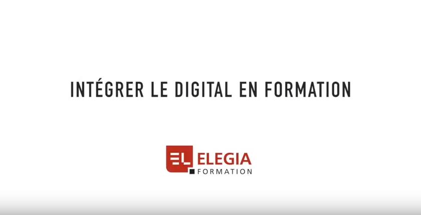 Intégrer le digital en formation